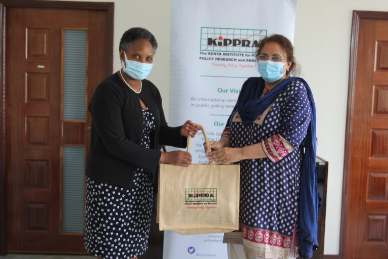 KIPPRA_Executive_Director_Dr_Rose_Ngugi(left)_poses_for_a_photo_with_Pakistan_High_Commissioner_Ms_Saqlain_Syedah