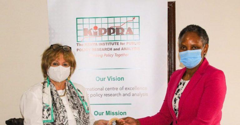 Colombian Ambassador to Kenya Paid a Courtesy Call on KIPPRA Executive Director