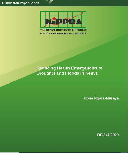 Reducing Health Emergencies of Droughts and Floods in Kenya-DP247