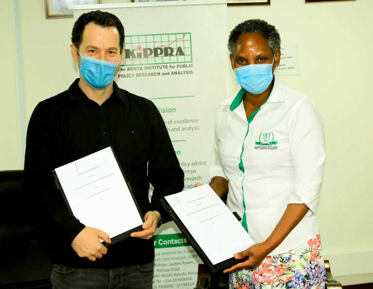 KIPPRA, Samuel Hall Sign MOU to Foster Research Collaboration